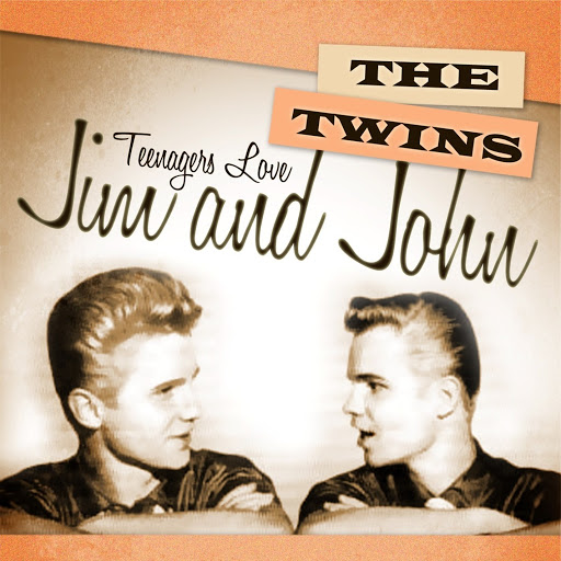 The Twins альбом Teenagers Love The Twins Jim And John