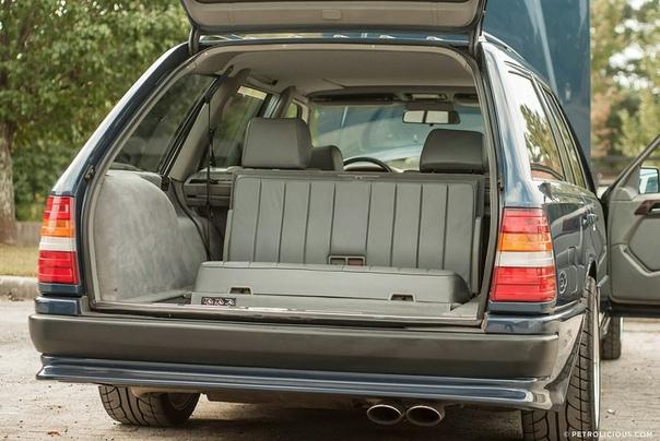 Очень редкие : Единственный Mercedes 300 E AMG Hammer 6.0 Estate