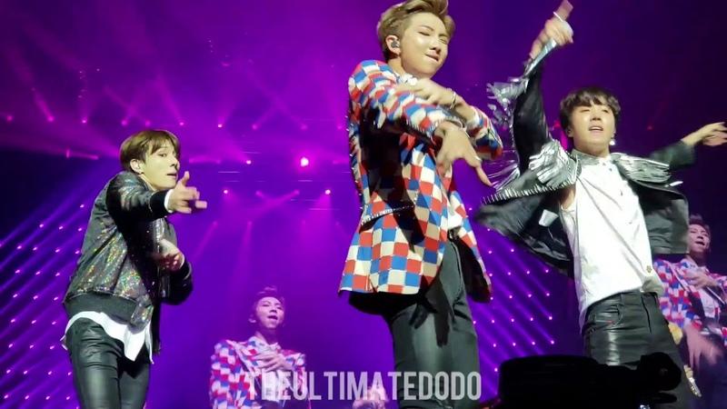 180920 Baepsae 뱁새 @ BTS 방탄소년단 Love Yourself Tour in Hamilton Fancam 직캠