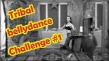 Tribal Fusion Bellydance lesson Challenge # 1 Трайбл-урок c OlKa