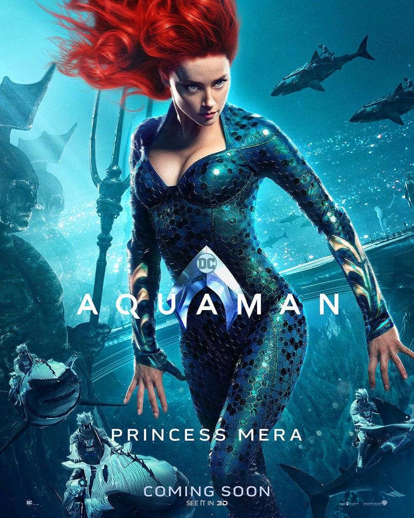 Новые постеры «Аквамена»: Богатый подводный мир. Студия War