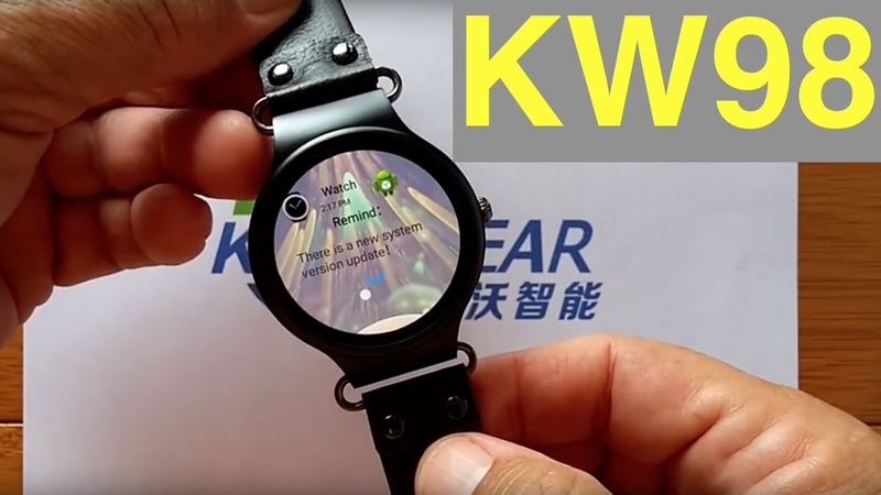 Kingwear KW98 Firmware Update: It Changes Everything for Watch Faces
