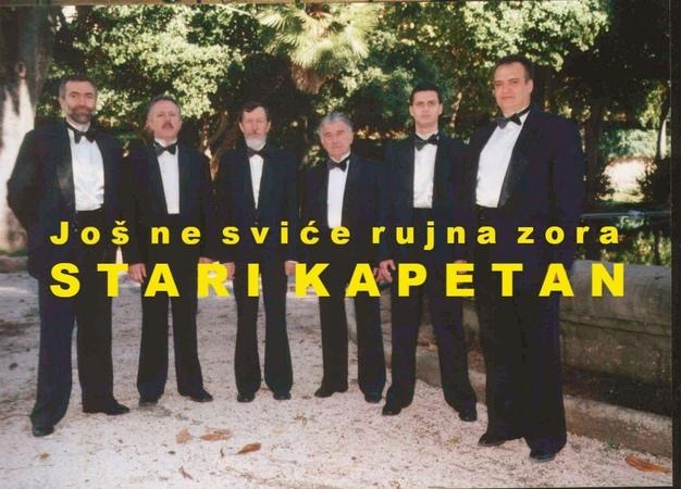 STARI KAPETAN - Još ne sviće rujna zora (OFFICIAL AUDIO)