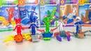 Игрушки Герои в масках 2. Детское лего человечки. Лего сюрприз Кэтбой Алет Геко Ромео