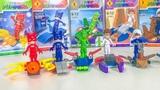 Игрушки Герои в масках 2. Детское лего человечки. Лего сюрприз #Кэтбой #Алет #Геко #Ромео
