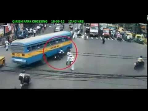 Road Accidents in India Caught On CCTV - Issued In Public Favour By Govt Of India