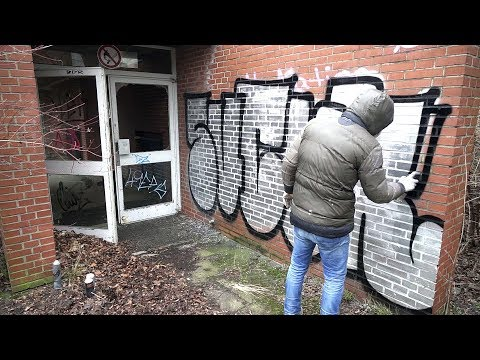 GRAFFITI - Throw Up Bombing - Raw Footage - SUCUK