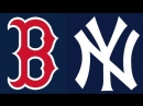 AL / 20.09.2018 / BOS Red Sox @ NY Yankees (3/3)