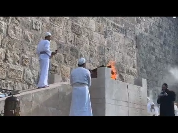 Sanhedrin Third Temple Ritual in Jerusalem (R$E)