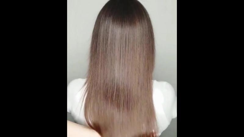 Девочки, обращаю ваше внимание⚠️ ⠀ Если у вас сильно поврежденные, тонкие, ослабленные волосы, то невозмо