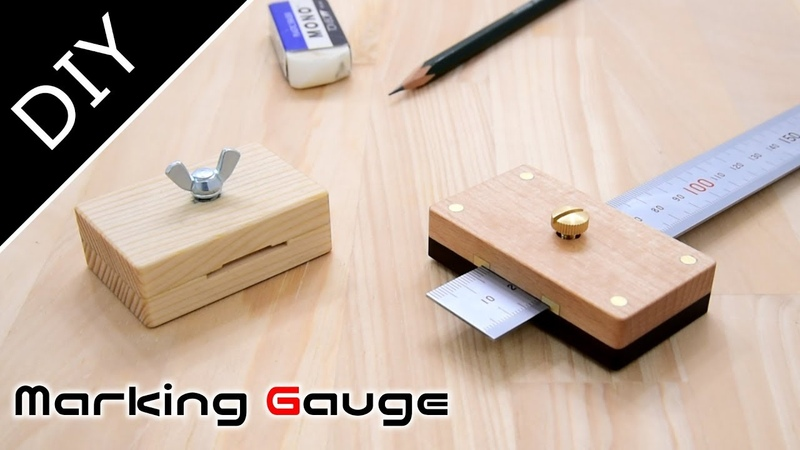 Ruler Marking Gauge :マーキングゲージを作ってみた