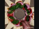 Быстрая пицца со слоёным тестом🔥