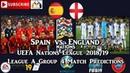 Spain vs. England UEFA Nations League League A Group 4 Predictions FIFA 19