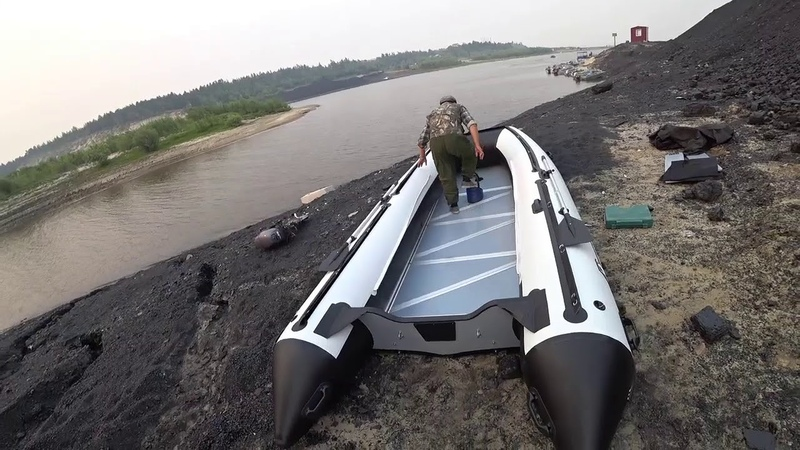 Лодка поларбирд Polar Bird 450E Орлан в Якутии Yakutia