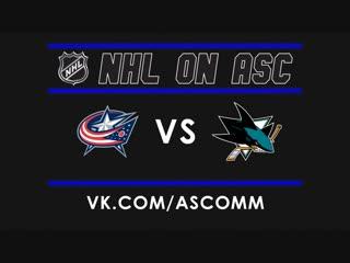 NHL   Blue Jackets VS Sharks