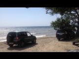 Море в момент нашего возвращения на берег с рыбалки на каяках