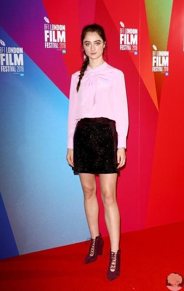 """Рэффи Кэссиди И Джуд Лоу на фотоколле фильма """"Голос люкс"""" в рамках 62nd BFI London Film Festival"""