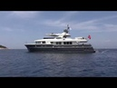 SEA ANGEL 29 meter Trawler yacht for sale Interior video tour