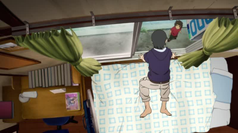 [SHIZA] Откуда лучше всего видно фейерверк? Снизу или сбоку? (фильм) / Uchiage Hanabi Shita kara Miru ka Yoko kara Miru ka MOVIE