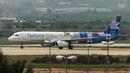 Афины аэропорт Элефтериос Венизелос LGAV ATH Посадки самолетов Апрель 2018