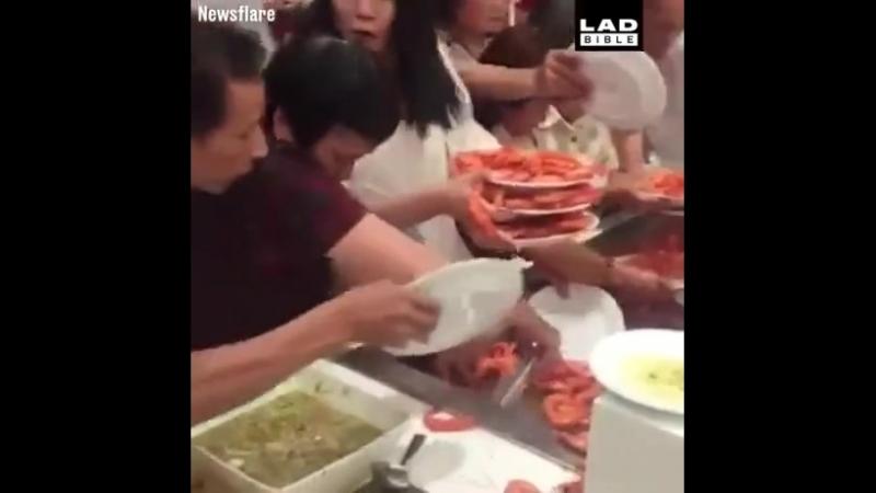 Обжираловка по азиатски
