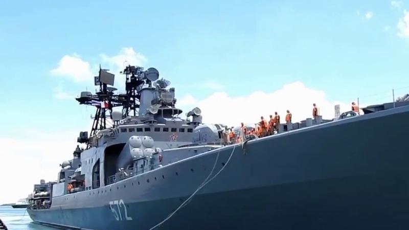 Отряд кораблей России прибыл в Таиланд
