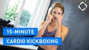 HIIT for Holidays 15 Min Kickboxing Workout