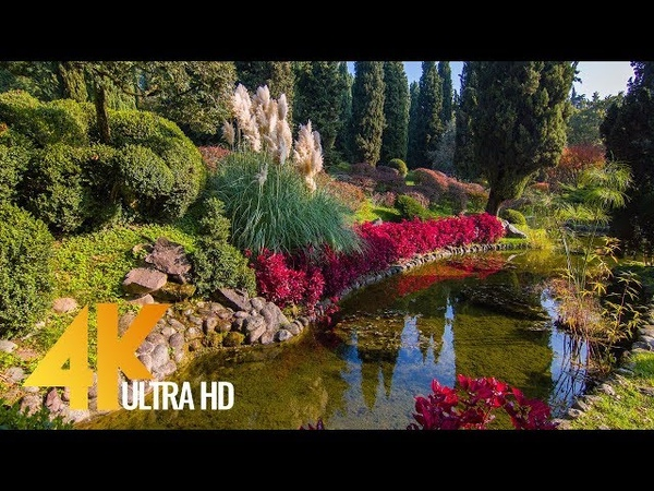 4K Relax City Life - Fabulous Italy: Parco Giardino Sigurtà - Beauty and Incredibility of Italy