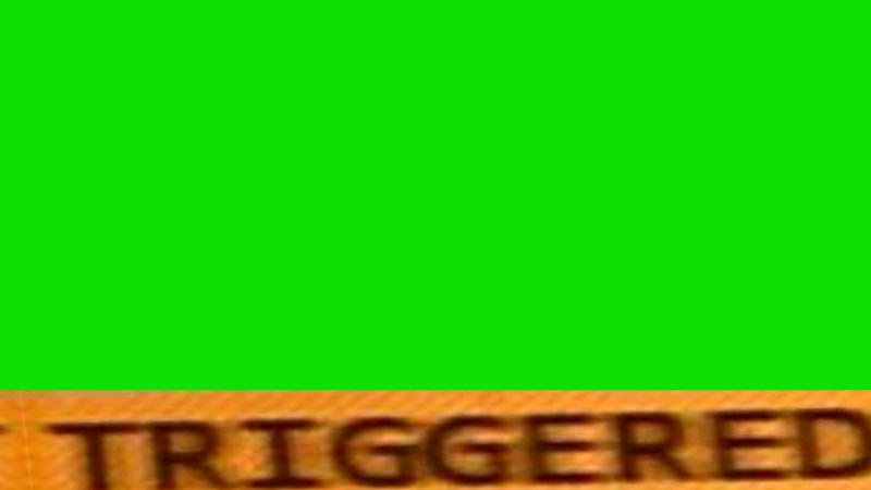 Triggered Video Effect Green Screen With Sound