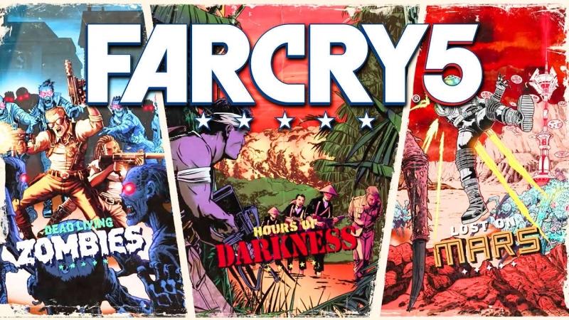 Far Cry 5: LOST ON MARS! Долгожданное обновление! Рубим инопланетян! 18