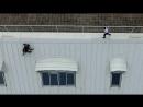 Побег руферов от охраны на крыше ДЛТ