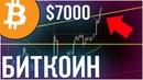 Биткоин $7000! Идем на $9000 или вниз? / ETH прибыль 30% / Аналитика рынка BTC, ETH, NEO