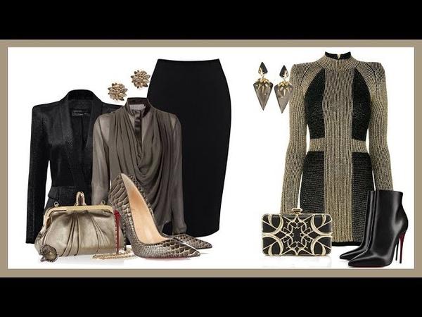 Outfits con Ropa Negra Combinaciones Para Señoras 2018