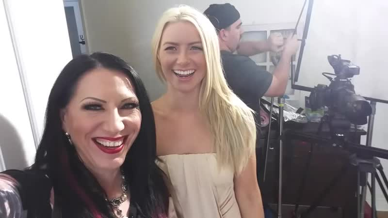 Behind the scenes of Babysitting the Baumgartners with Anikka Albrite, Sarah Luv