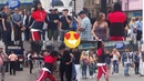 Laurent [Les Twins] Freestyle at Piccadilly Circus Part-3