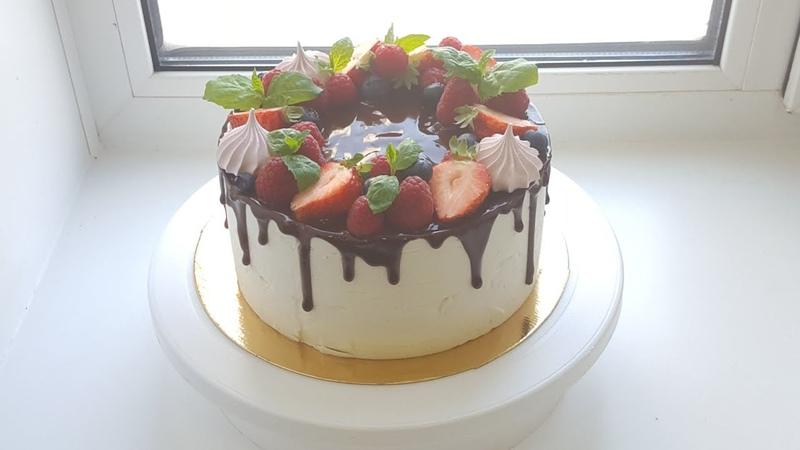 Торт Птичье молоко на агаре🌹Bird's milk cake