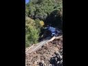 Truck Slides down Mountainside || ViralHog