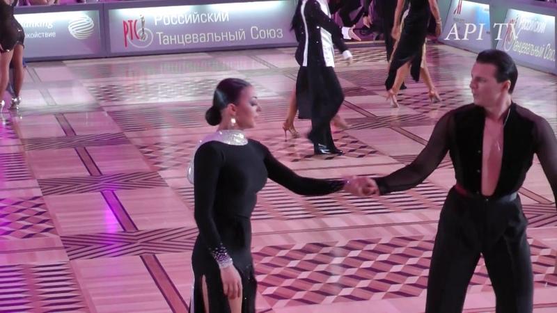 Dorin Frecautanu Marina Sergeeva - Cha-cha-cha - API TV DANCE STARS