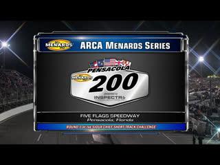 2019 arca racing series - round 02 - pensacola 200