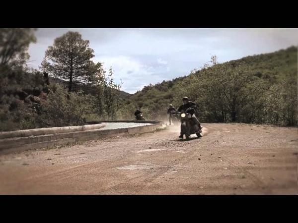 Triumph Scrambler Raise the dust Jimmy Cornett