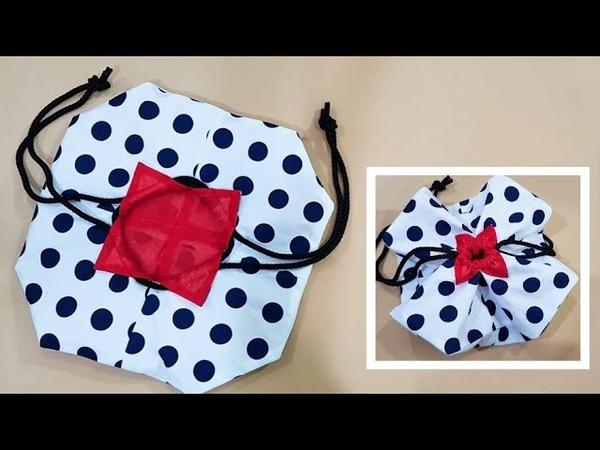 Super Cute...Drawstring bag Sewing Ideas | Creative project For beginner 【手作包教学】❤❤