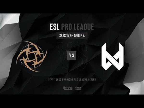 NiP vs devils.one - ESL Pro League Season 9 EU- map1 - de_mirage [TheCraggy Anishared]