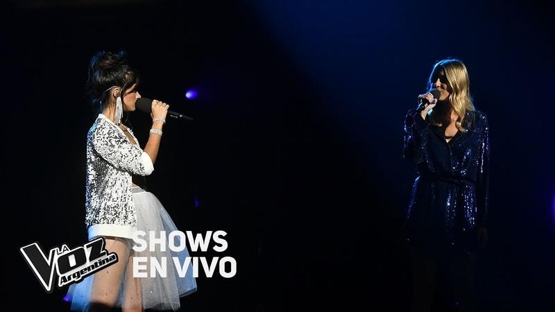 Shows en vivo TeamTini Juliana y Isabel cantan Wrecking ball - La Voz Argentina 2018