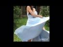 Платье «Волна», цвет: холодный небесный