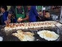 Al Madina Burger Street Food of Karachi Pakistan Triple Layered 50 Egg Burgers BUN KABAB