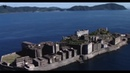 Япония Остров Хасима Заброшенный город Гунканджима