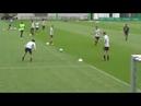 Футбольные упражнения от Футбольного клуба Вольфсбург на завершение атаки