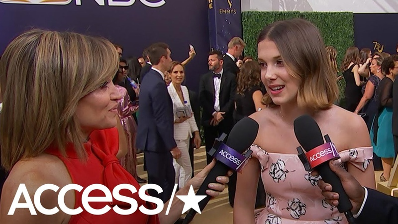 Stranger Things Millie Bobby Brown Says Drake Helps Her With Boys | Access