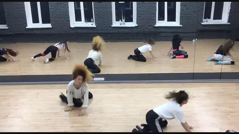 Strip choreo with my girls ❤️. Oksana (Kovsh) Kushinskaya.