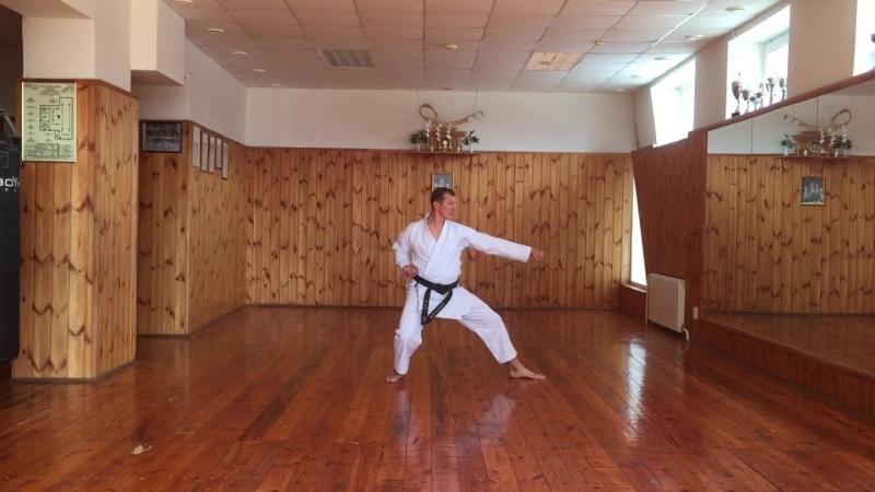 ката Хейан-Нидан каратэ сётокан JKA инструктор Валерий Балашов